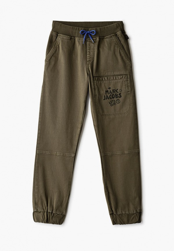 брюки little marc jacobs для мальчика, хаки