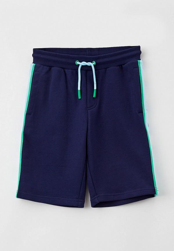 спортивные шорты little marc jacobs для мальчика, синие