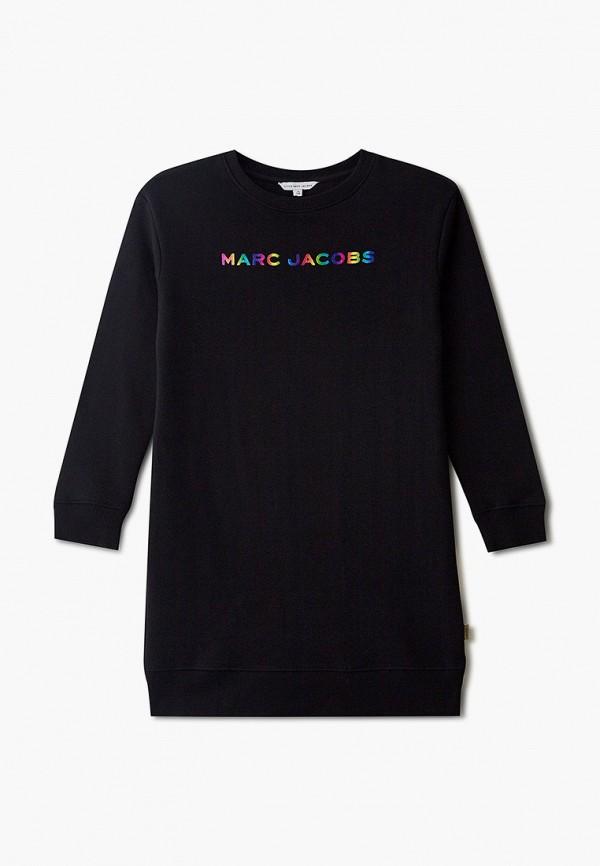 повседневные платье little marc jacobs для девочки, черное