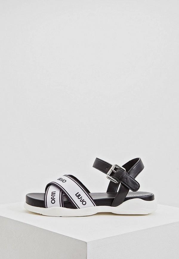 Купить Сандалии Liu Jo, li687awdmta8, черный, Весна-лето 2019