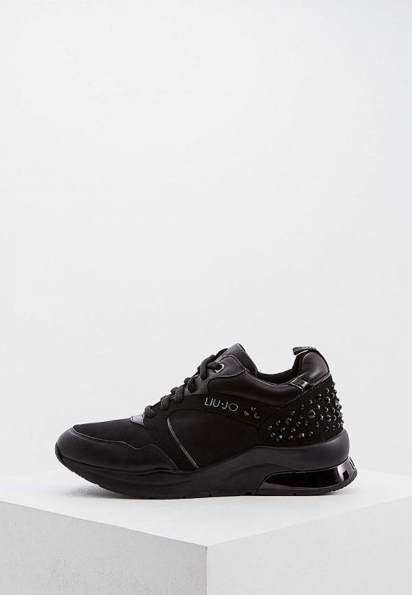 женские кроссовки liu jo, черные