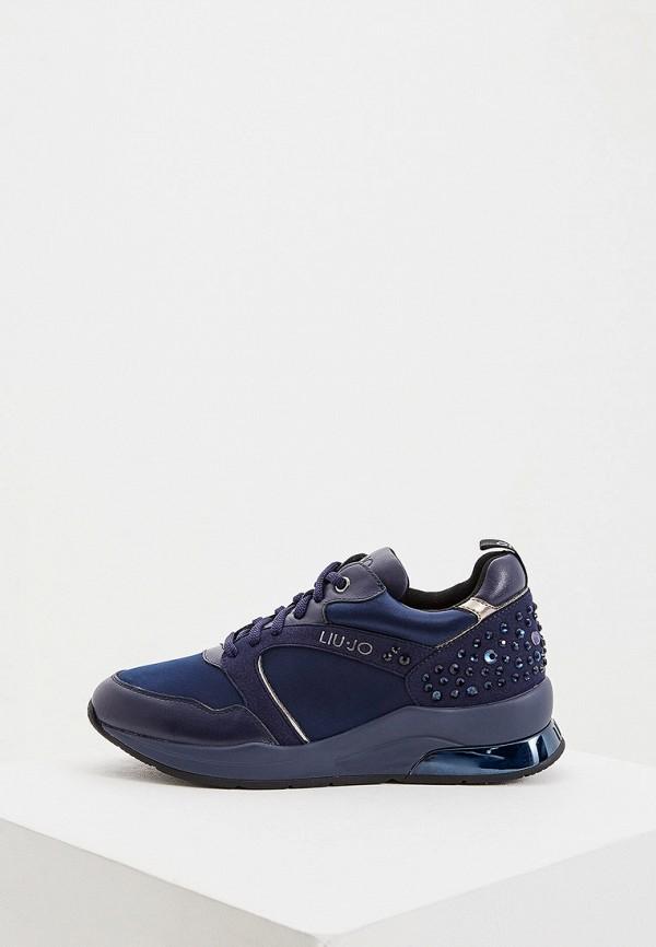 женские кроссовки liu jo, синие