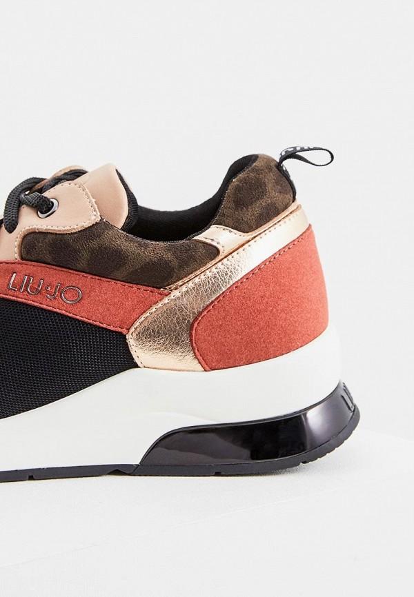 Фото 2 - женские кроссовки Liu Jo кораллового цвета