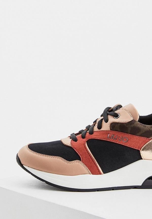 Фото 4 - женские кроссовки Liu Jo кораллового цвета