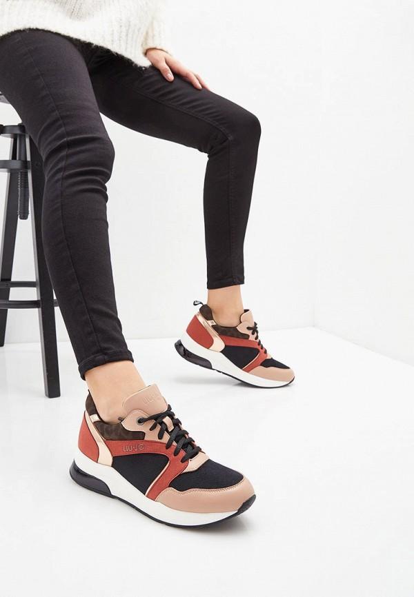 Фото 6 - женские кроссовки Liu Jo кораллового цвета