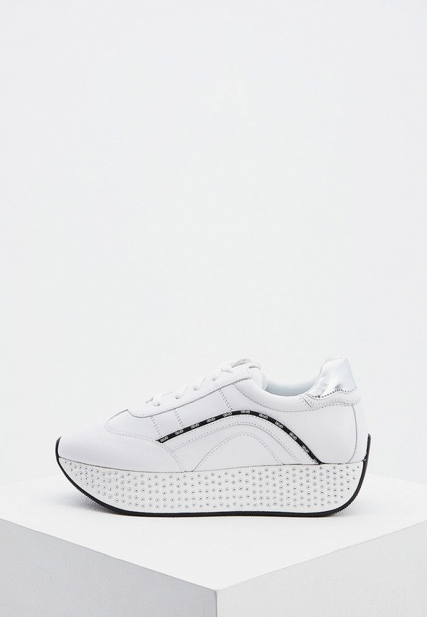 женские кроссовки liu jo, белые