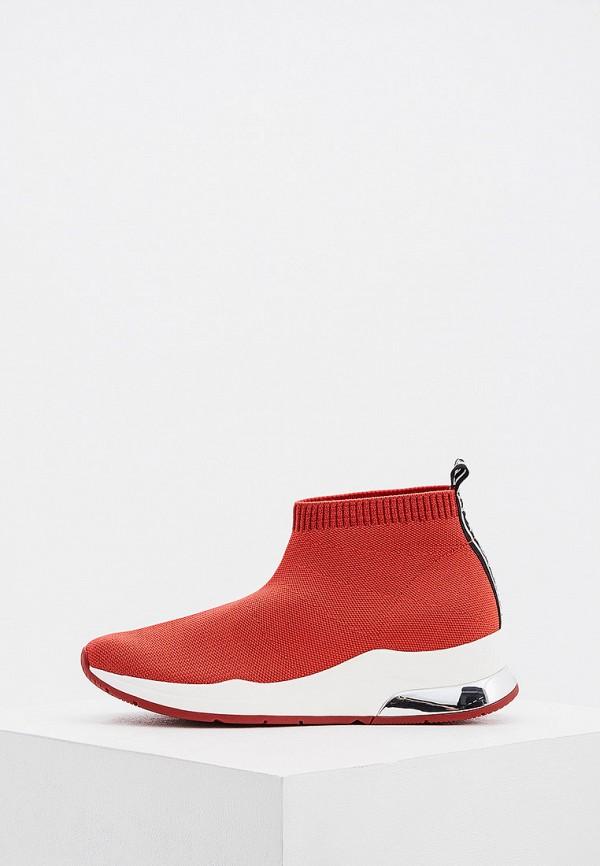 женские кроссовки liu jo, красные