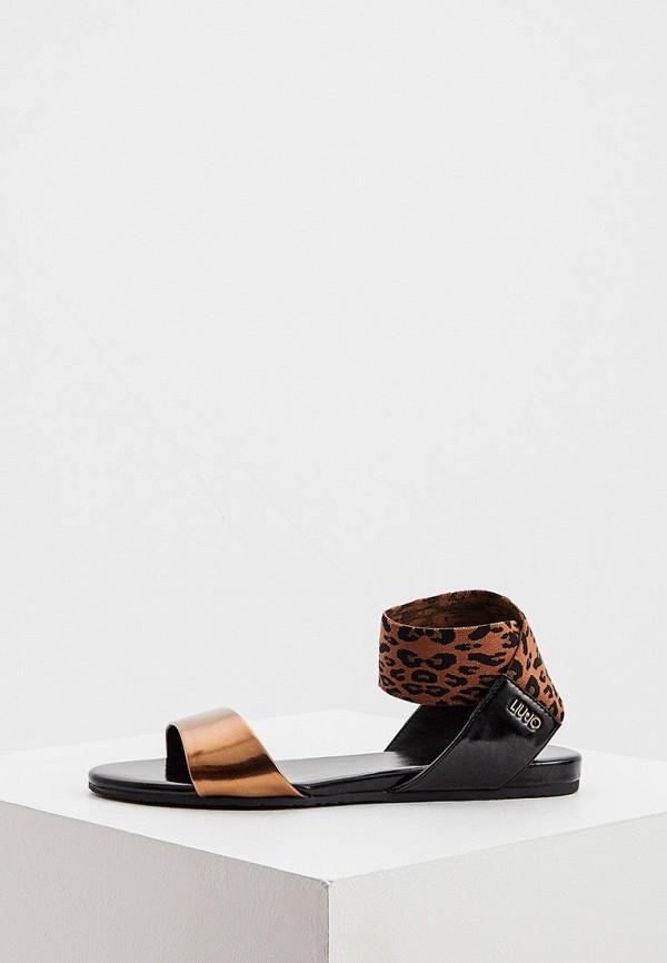 женские сандалии liu jo, разноцветные