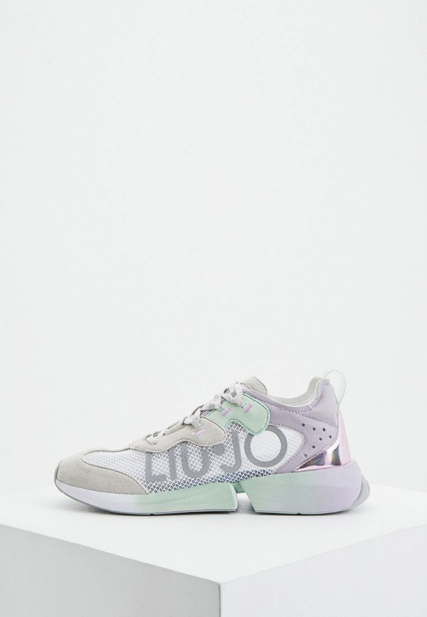 женские кроссовки liu jo, разноцветные