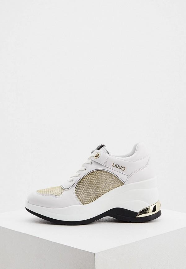 женские низкие кроссовки liu jo, белые