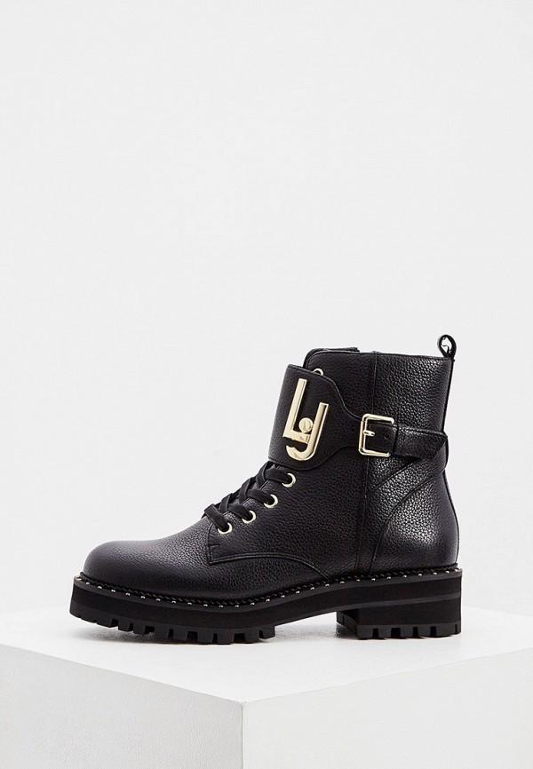 женские ботинки liu jo, черные