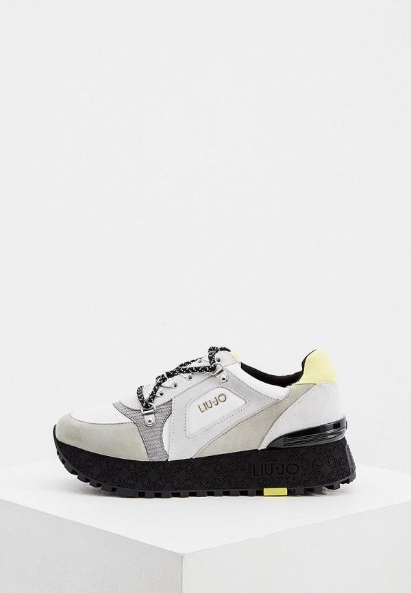 женские кроссовки liu jo, серые