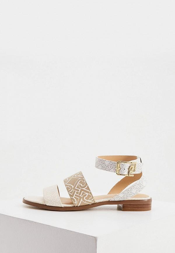 женские сандалии liu jo, бежевые