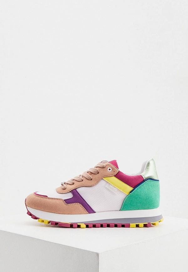 женские низкие кроссовки liu jo, разноцветные