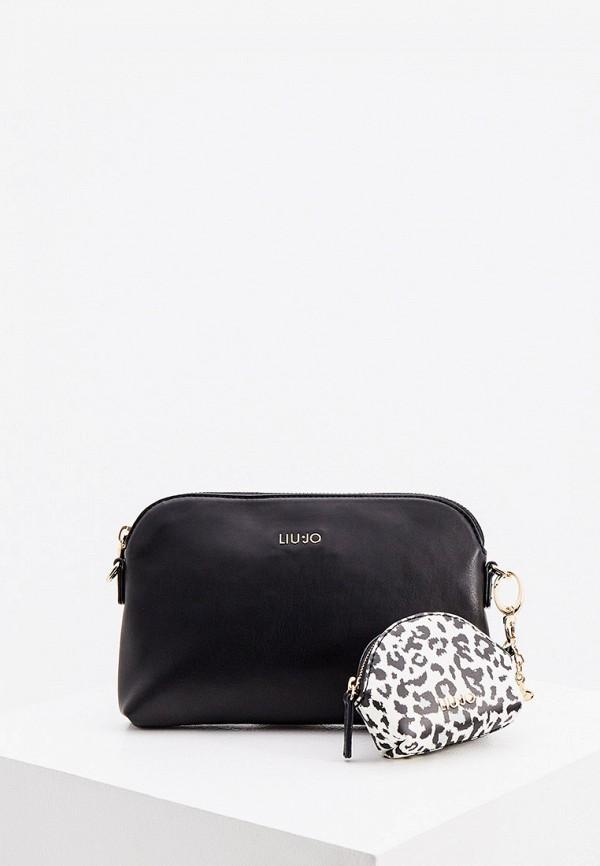 сумка liu jo для девочки, черная