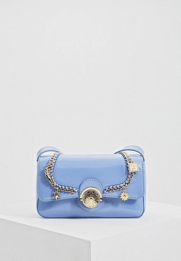 женская сумка liu jo, голубая