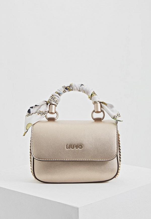 Фото - женскую сумку Liu Jo золотого цвета