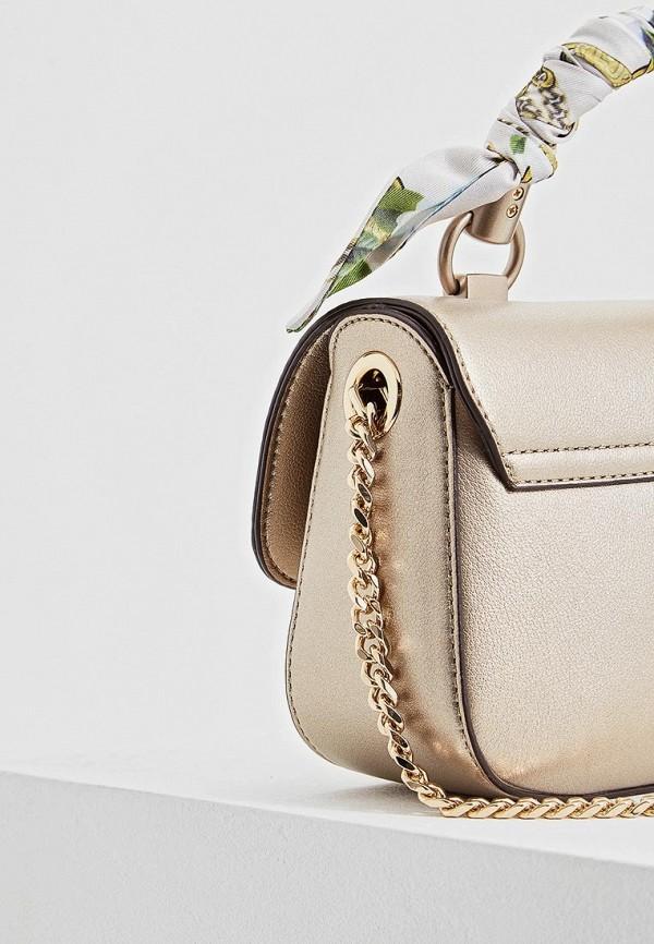 Фото 4 - женскую сумку Liu Jo золотого цвета