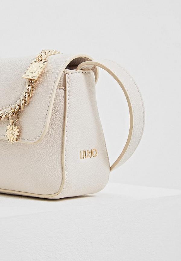 Фото 4 - женскую сумку Liu Jo бежевого цвета