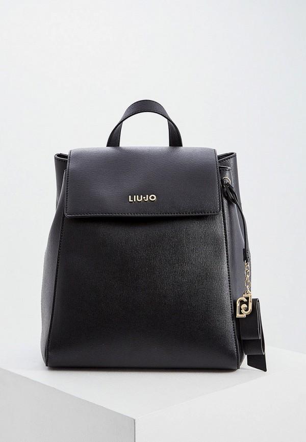 женский рюкзак liu jo, черный