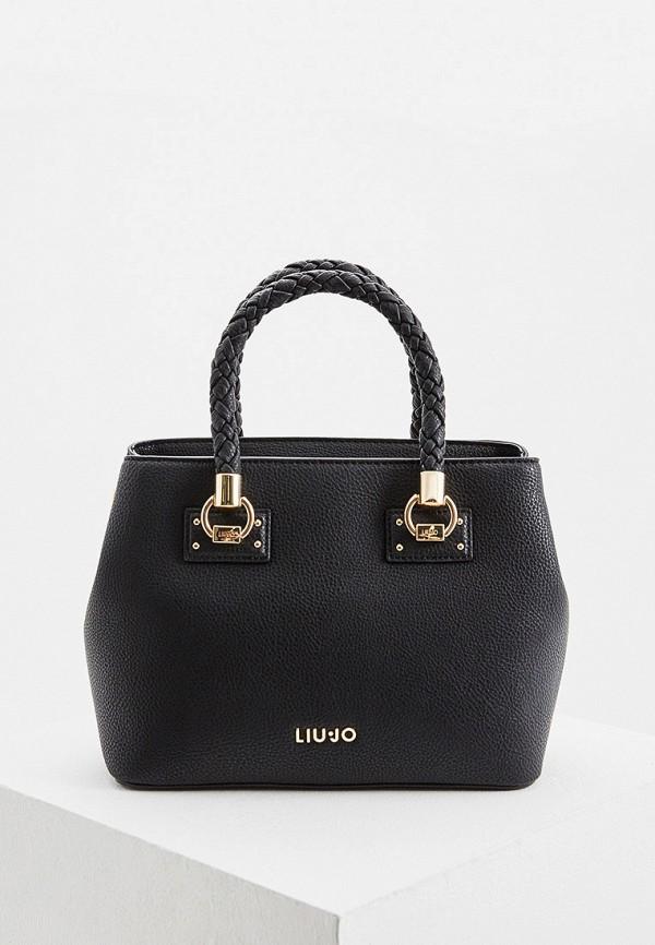 Фото - женскую сумку Liu Jo черного цвета