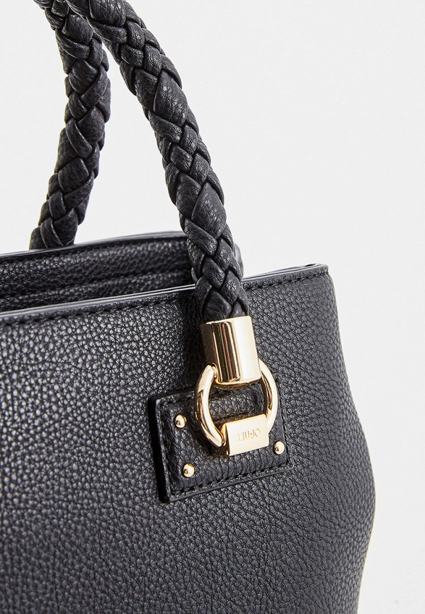 Фото 3 - женскую сумку Liu Jo черного цвета