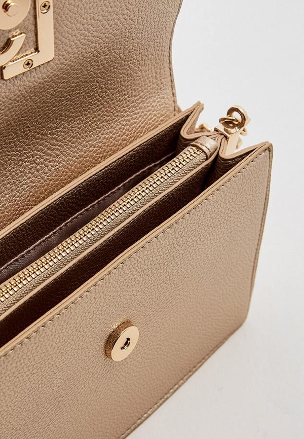 Фото 5 - женскую сумку Liu Jo золотого цвета