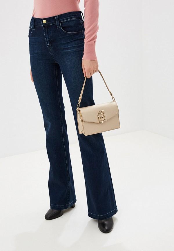 Фото 6 - женскую сумку Liu Jo золотого цвета
