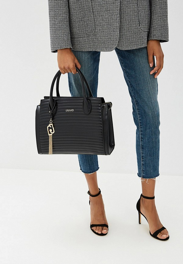 Фото 6 - женскую сумку Liu Jo черного цвета