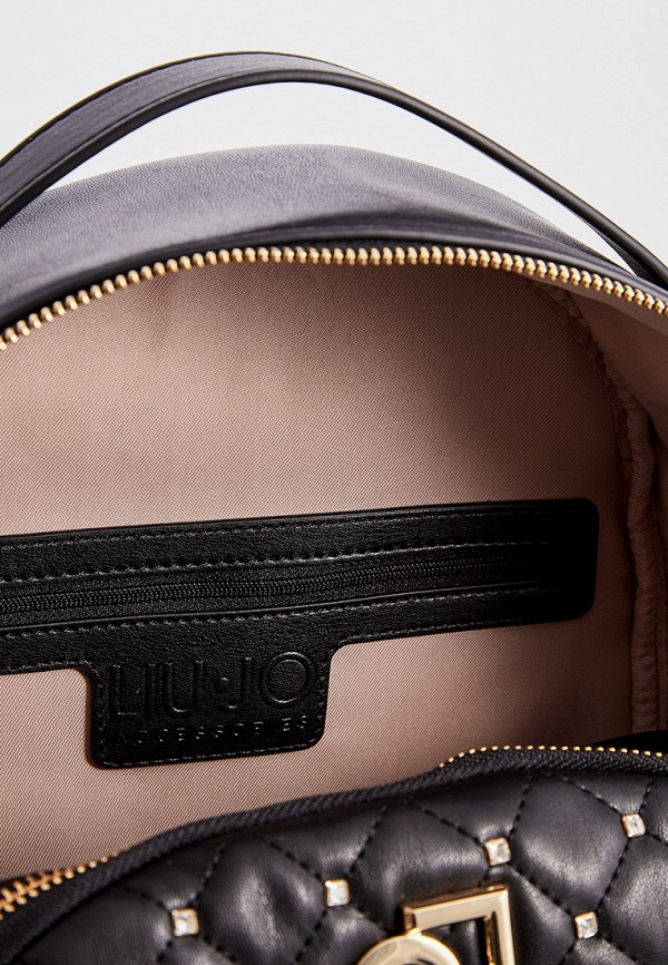 Фото 5 - женский рюкзак Liu Jo черного цвета