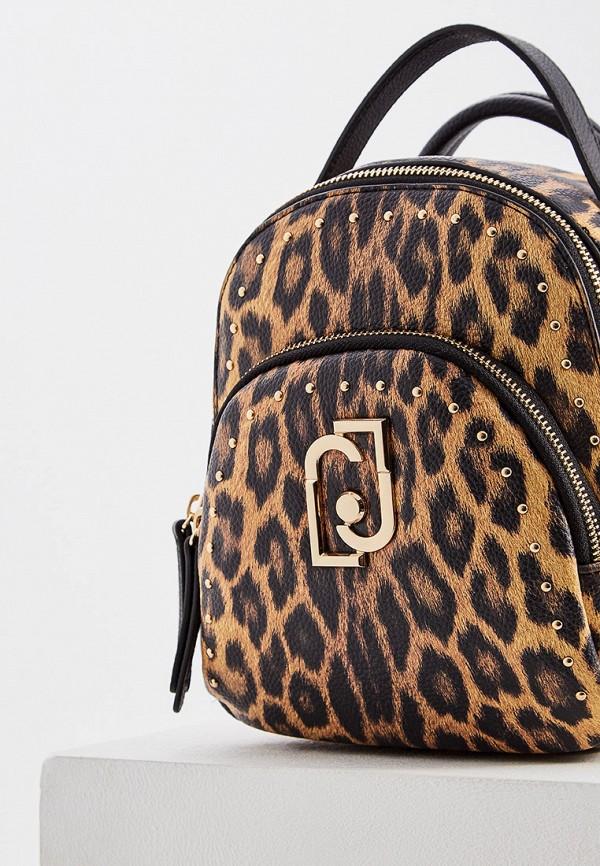 Фото 3 - женский рюкзак Liu Jo разноцветного цвета
