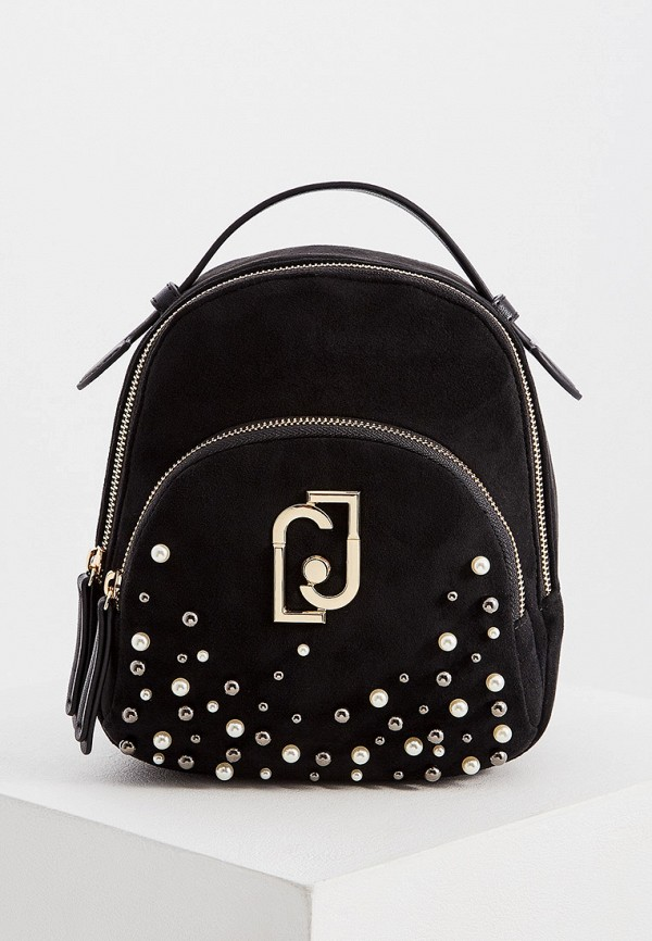 Фото - женский рюкзак Liu Jo черного цвета