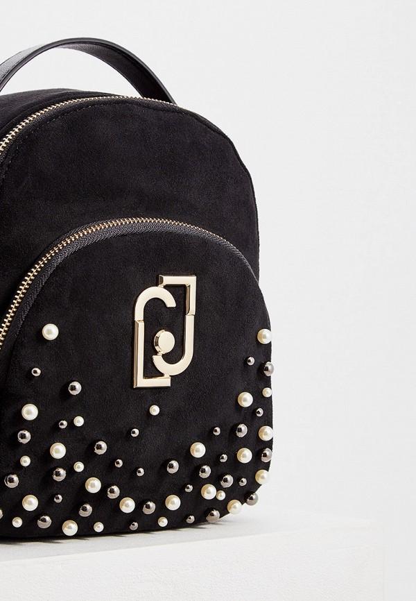 Фото 3 - женский рюкзак Liu Jo черного цвета