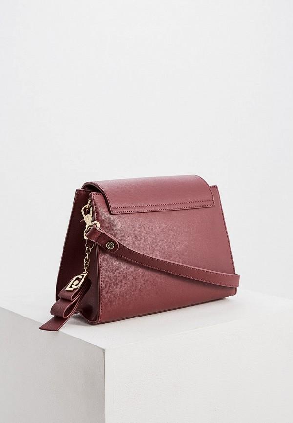 Фото 2 - женскую сумку Liu Jo бордового цвета