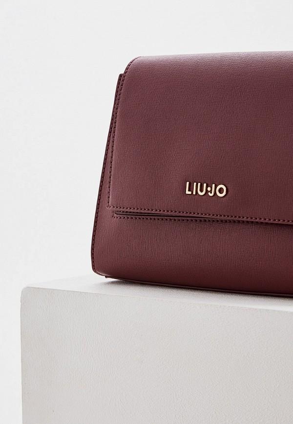 Фото 3 - женскую сумку Liu Jo бордового цвета