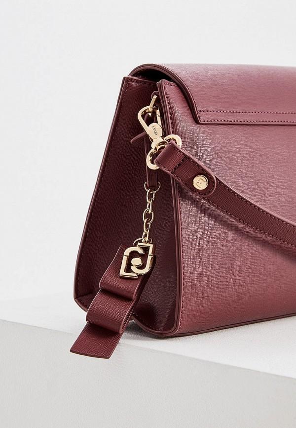 Фото 4 - женскую сумку Liu Jo бордового цвета