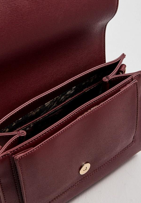 Фото 5 - женскую сумку Liu Jo бордового цвета