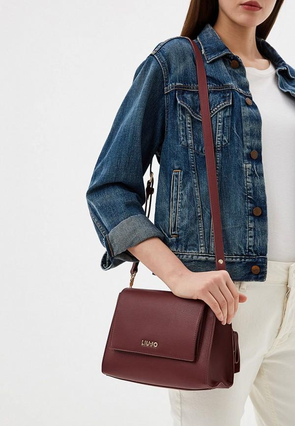 Фото 6 - женскую сумку Liu Jo бордового цвета