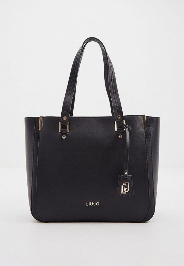женская сумка liu jo, черная