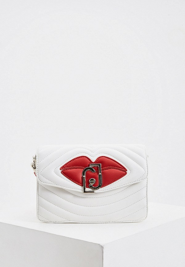женская сумка liu jo, белая