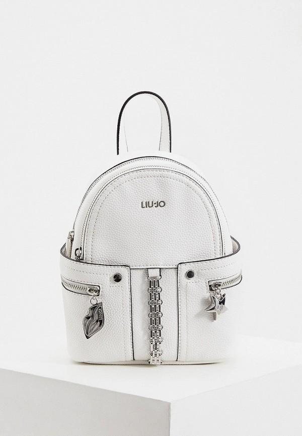 женский рюкзак liu jo, белый