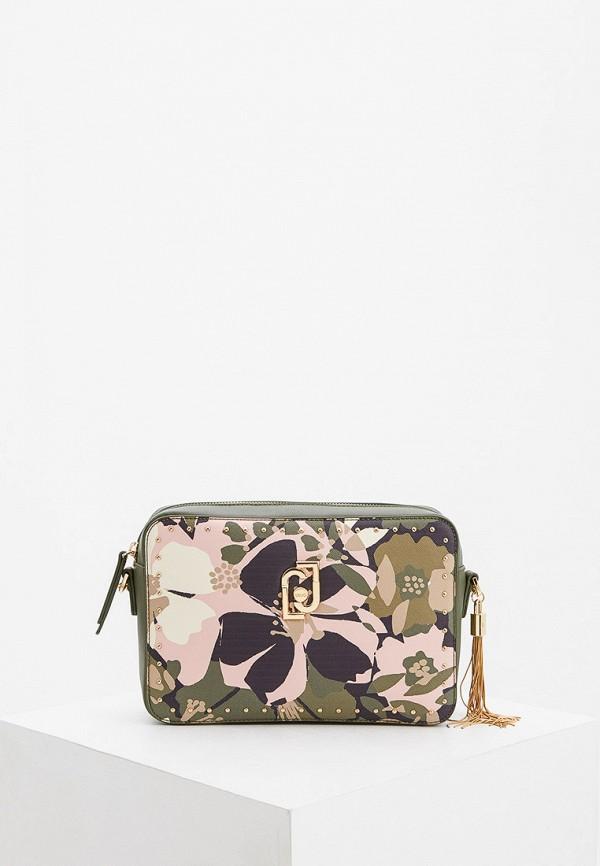 женская сумка через плечо liu jo, разноцветная