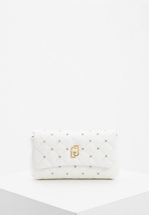 женская поясные сумка liu jo, белая