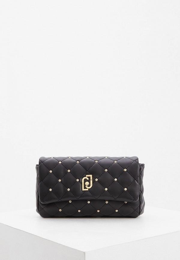 женская поясные сумка liu jo, черная