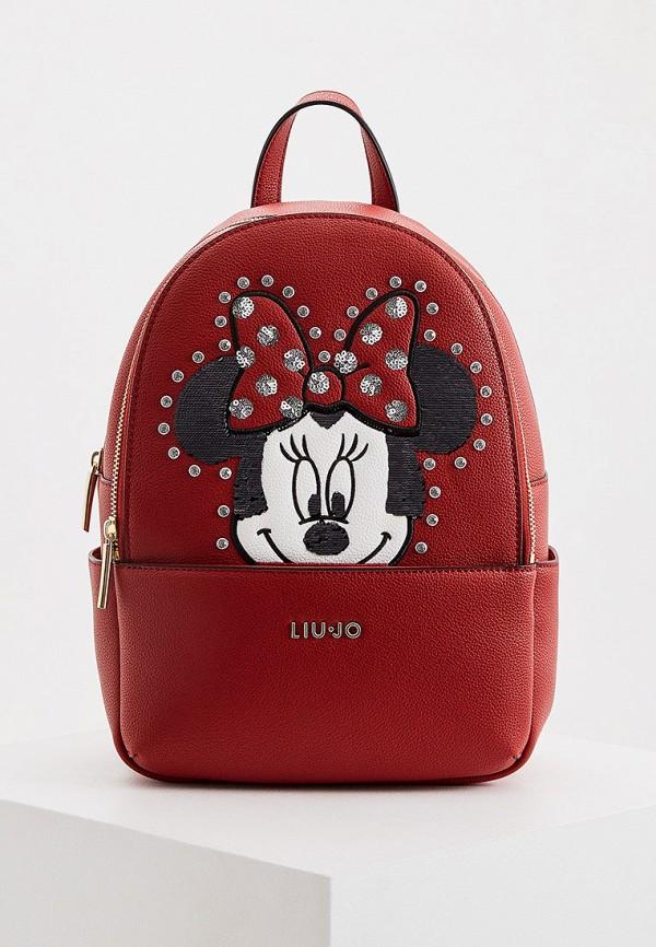 женский рюкзак liu jo, красный
