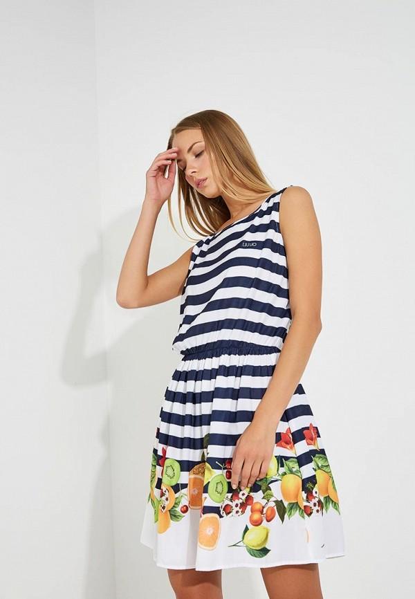 Платье пляжное Liu Jo Liu Jo LI687EWAESV7 платье liu jo c18216j1714 22222