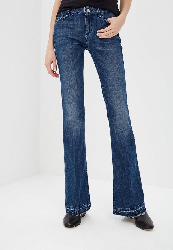 женские джинсы клеш liu jo, синие