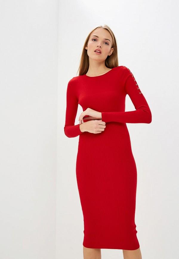 Купить Платье Liu Jo, li687ewbsqp7, красный, Осень-зима 2018/2019