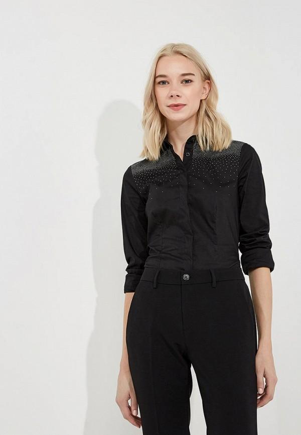 женская рубашка с длинным рукавом liu jo, черная
