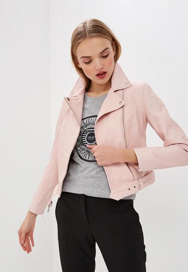 Куртка кожаная Liu Jo Liu Jo LI687EWDMTP0 куртка liu jo jeans w16334e0211 22222